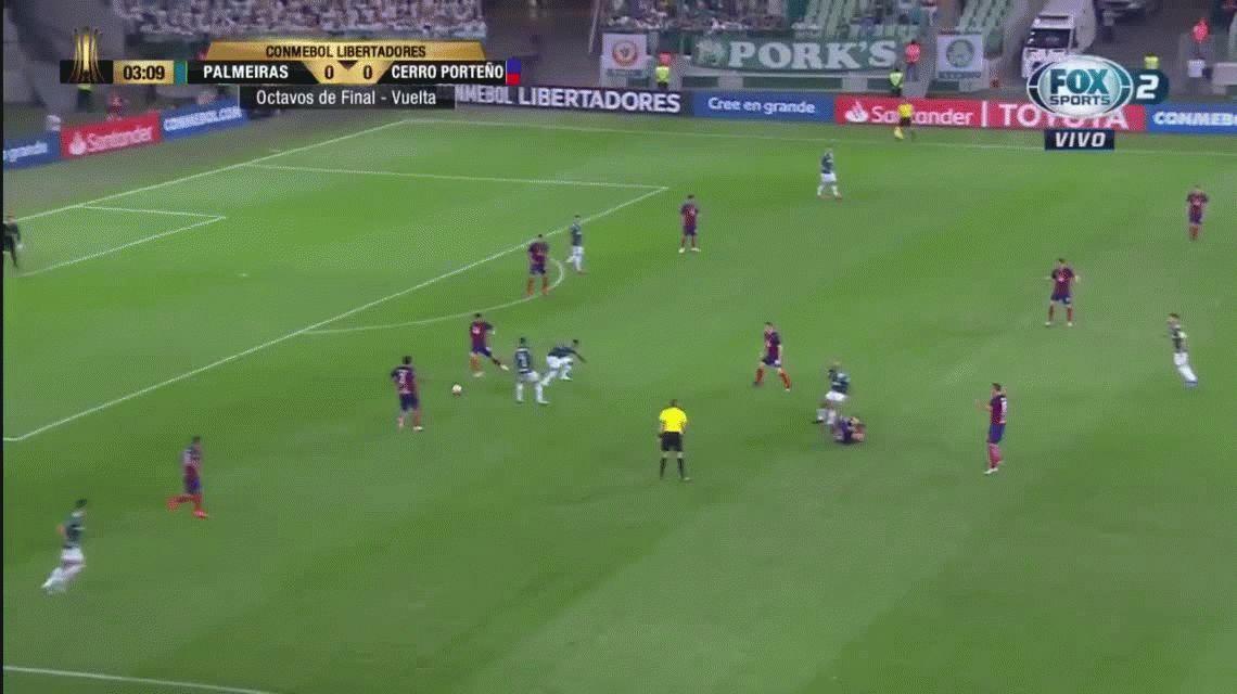 Polémica actuación de Germán Delfino en la Copa Libertadores