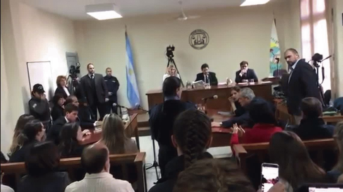 La madre de Fortunato interrumpió la audiencia del juicio por el crimen de su hijo