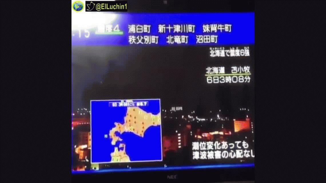 Después del tifón, un sismo de 6,7 grados sacudió Japón