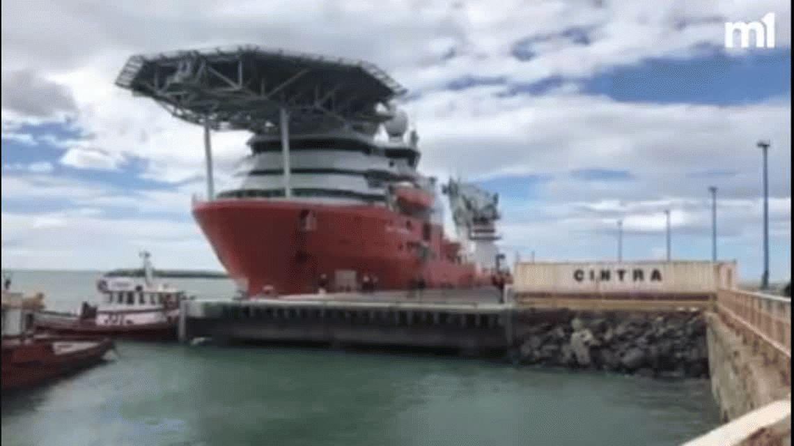 Zarpó el buque que intentará encontrar al submarino ARA San Juan