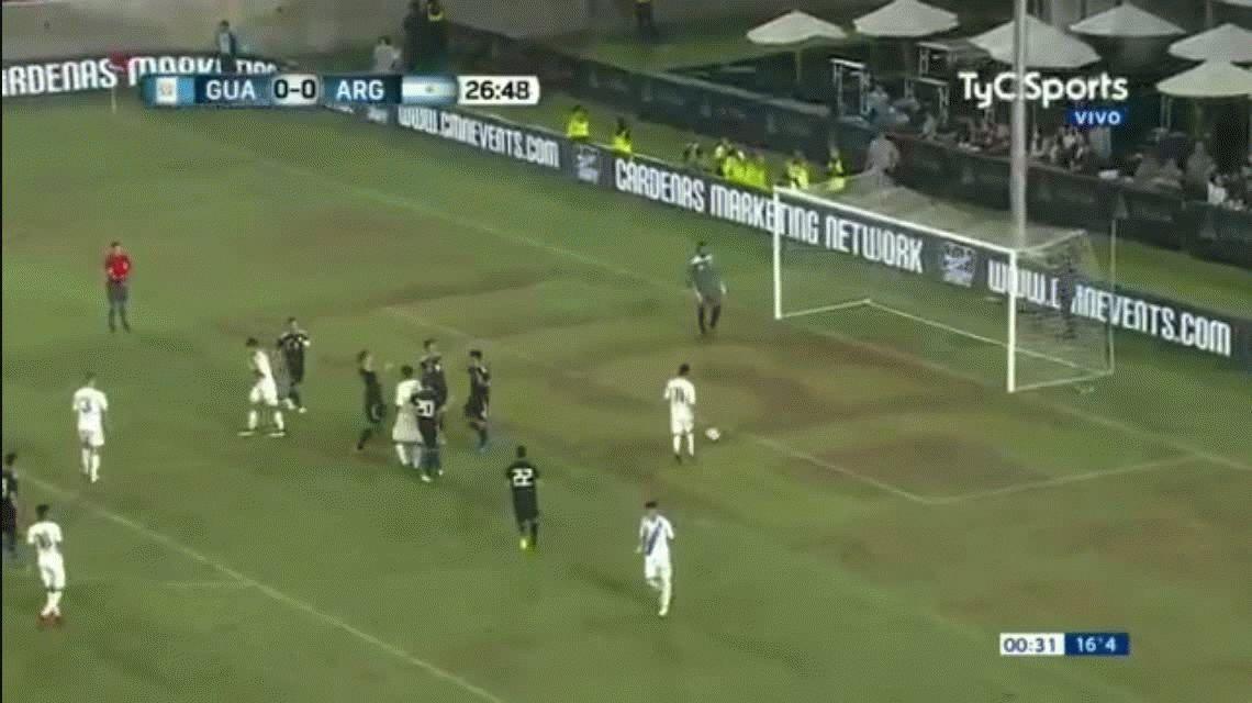¡Los primeros post Mundial! Los goles de Argentina frente a Guatemala