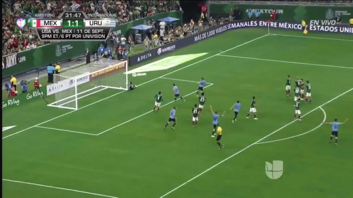 Luis Suárez contra México