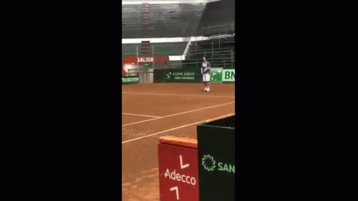 Después de 14 años de la final de Roland Garros, Gaudio y Coria volvieron a enfrentarse en una cancha