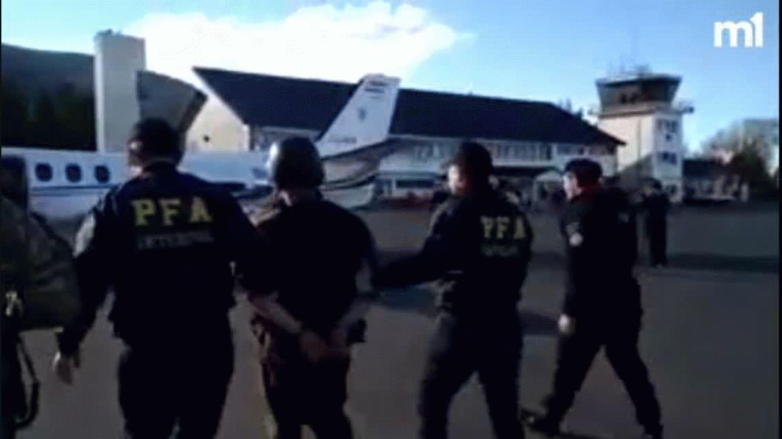 Extraditaron a Chile a Facundo Jones Huala