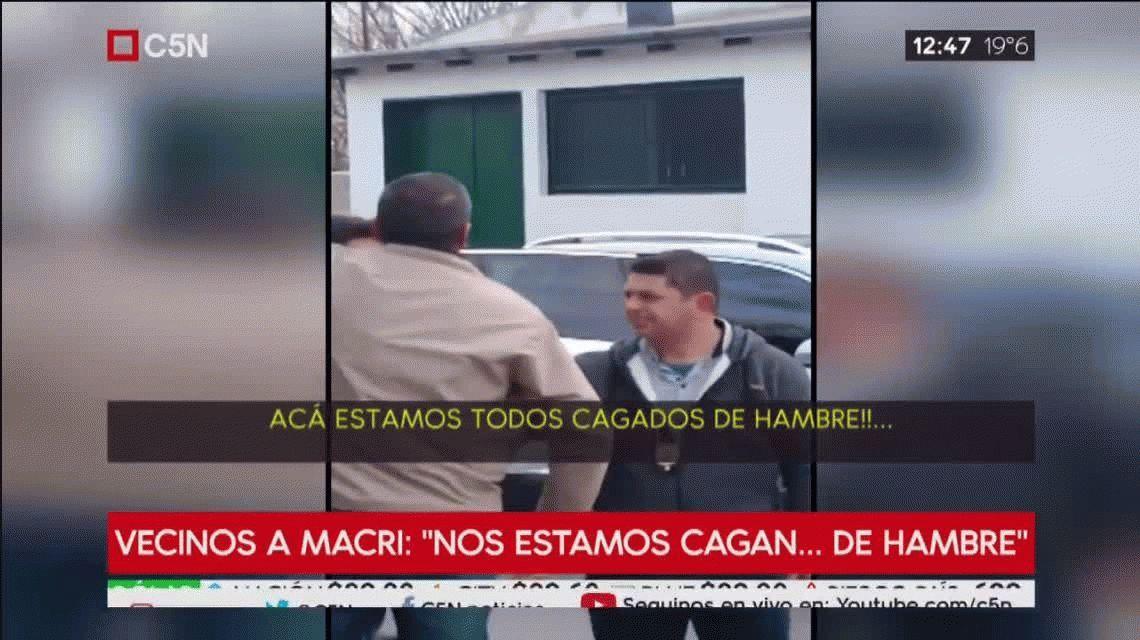 Habló el hombre que increpó a Macri en Florencio Varela: Se olvidaron de nosotros