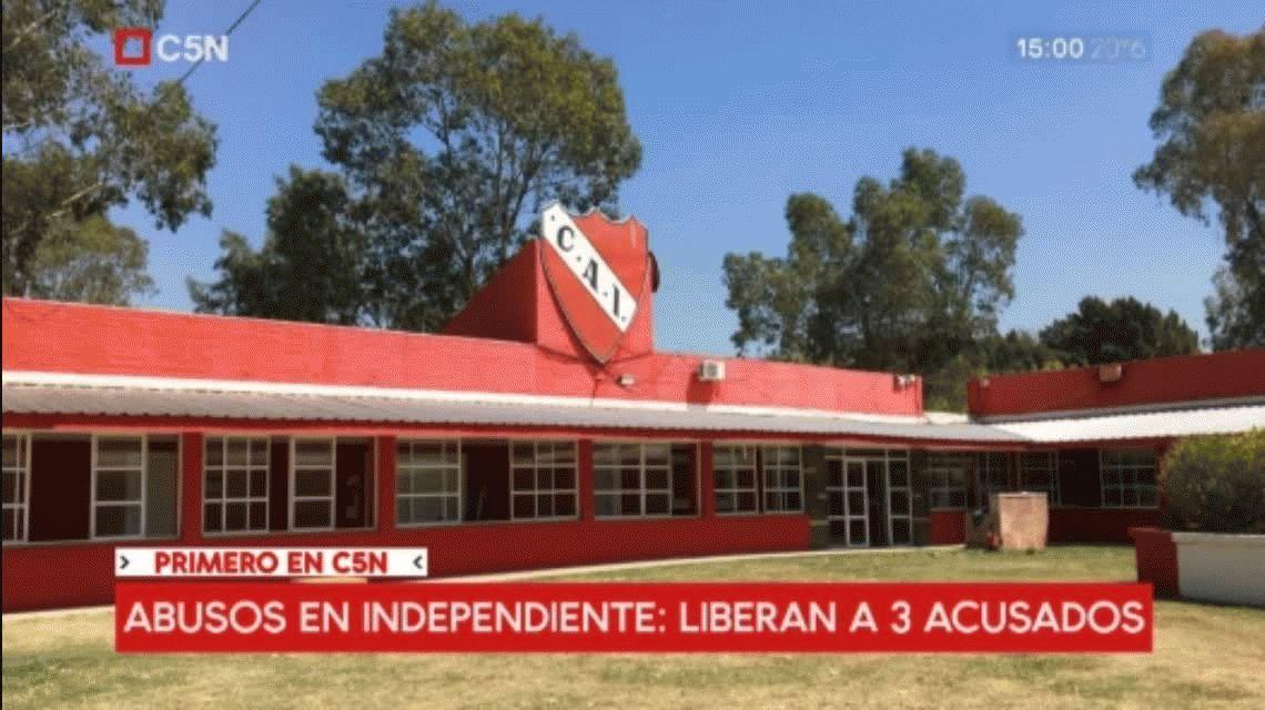Abusos de menores en Independiente: liberan a tres de los acusados