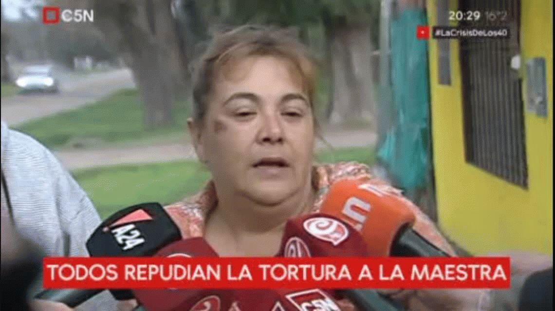 Habló la docente secuestrada y torturada en Moreno: No pude ver caras porque tenía una bolsa en la cabeza