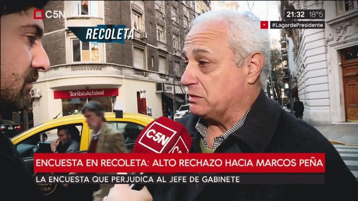 Los vecinos de Marcos Peña no lo quieren: alto rechazo en Palermo