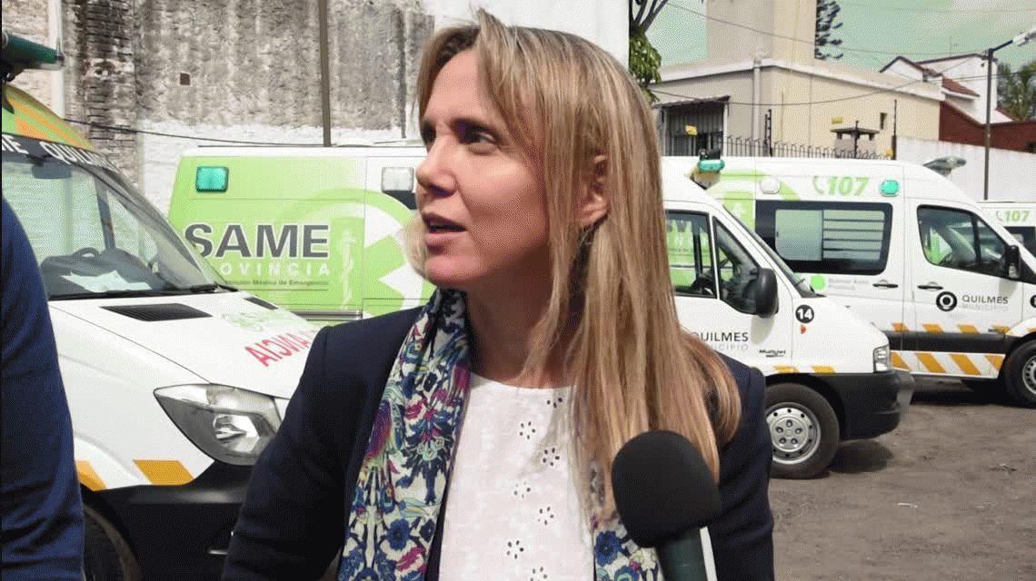 Gladys Gonzáez visitó el SAME de Quilmes y adelantó que el de Avellaneda funcionará pronto