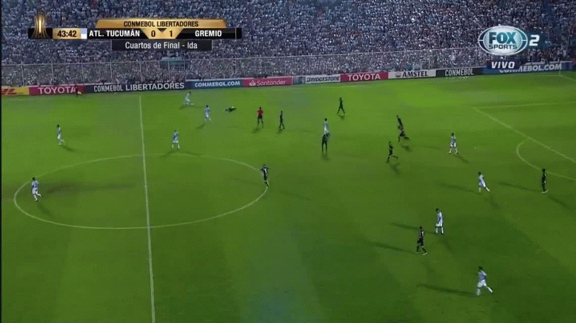 El VAR debutó en Tucumán e hizo expulsar a un jugador de Atlético que explotó de bronca