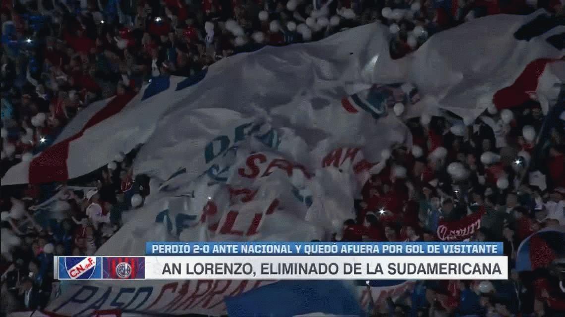 Nacional eliminó a San Lorenzo y el Pampa Biaggio quedó en la cuerda floja