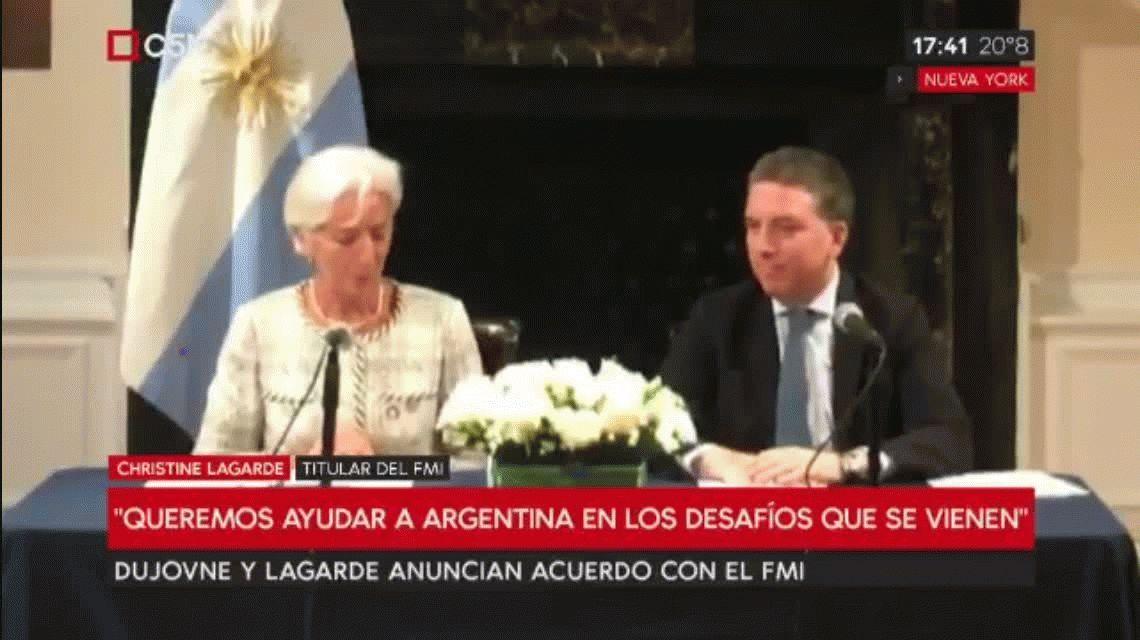 Acuerdo con el FMI: se suman u$s7 mil millones y se abandonan las metas de inflación