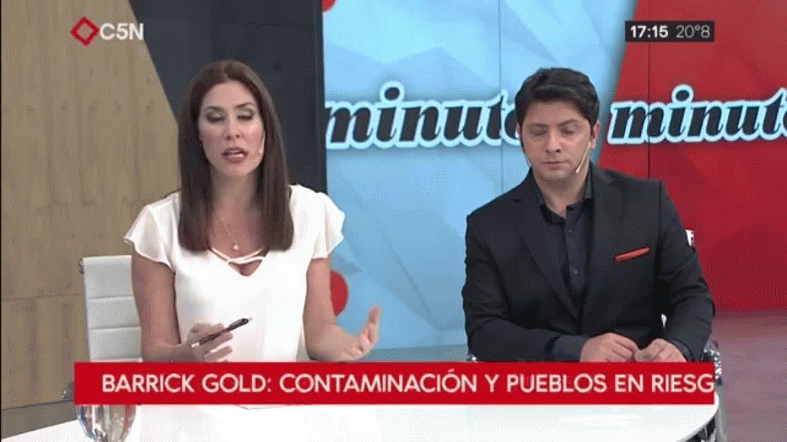 Barrick Gold: contaminación y pueblos en riesgo