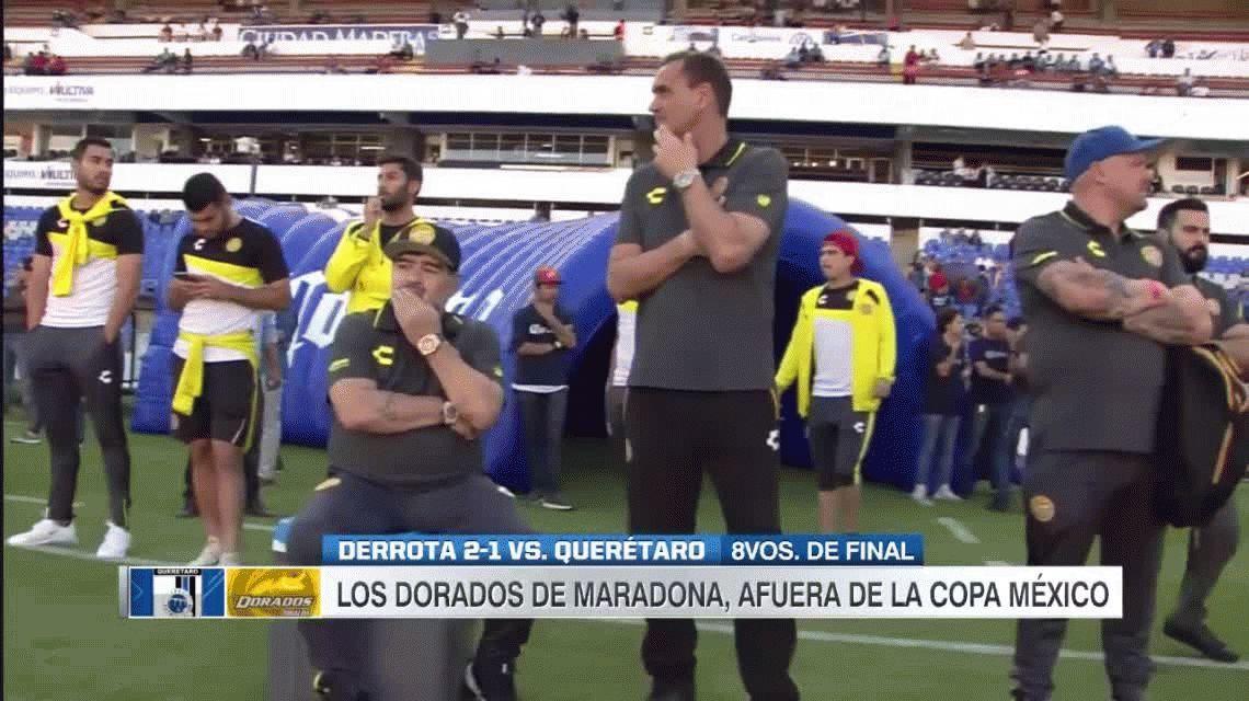 Con dos golazos maradonianos eliminaron al equipo de Diego de la Copa MX