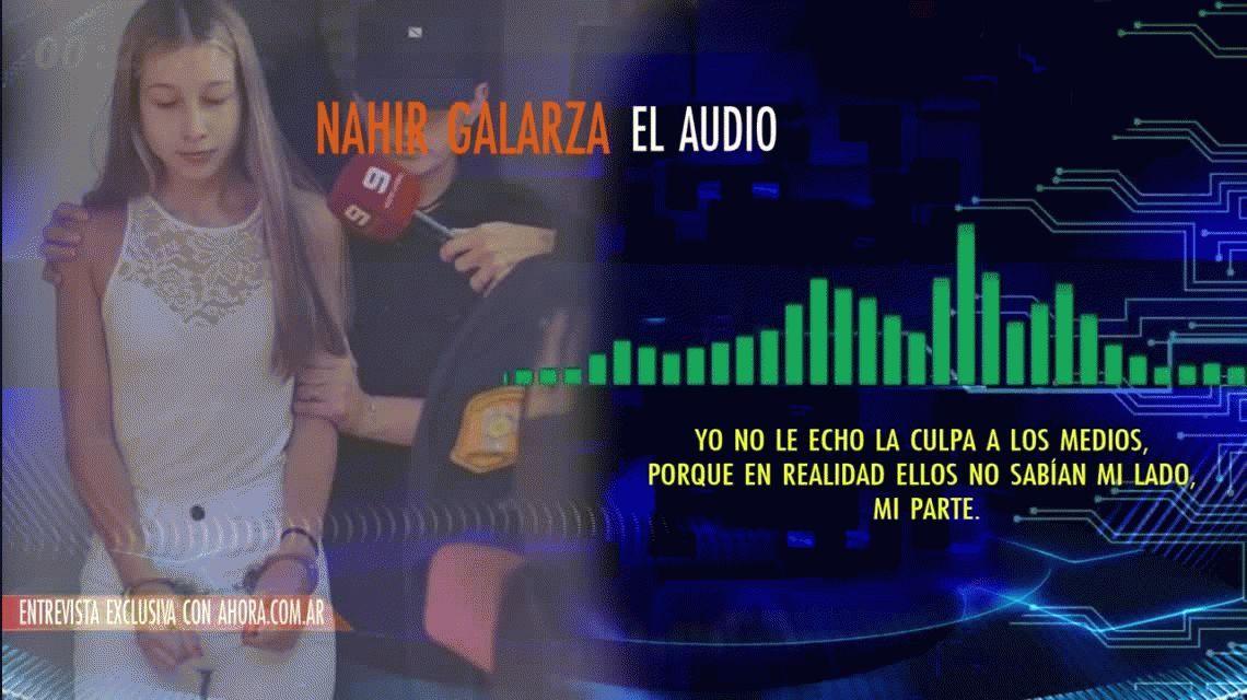 Se difundieron los audios de la entrevista a Nahir Galarza desde la cárcel
