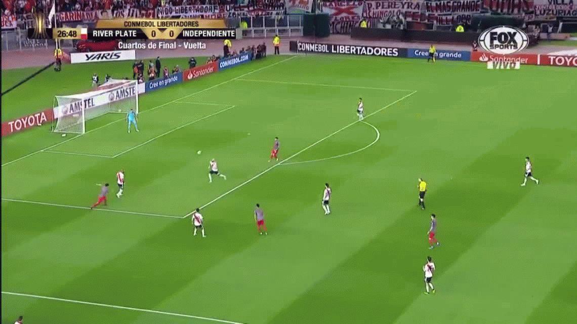 VIDEO: ¿Fue penal para Independiente? La gran polémica de la Copa Libertadores