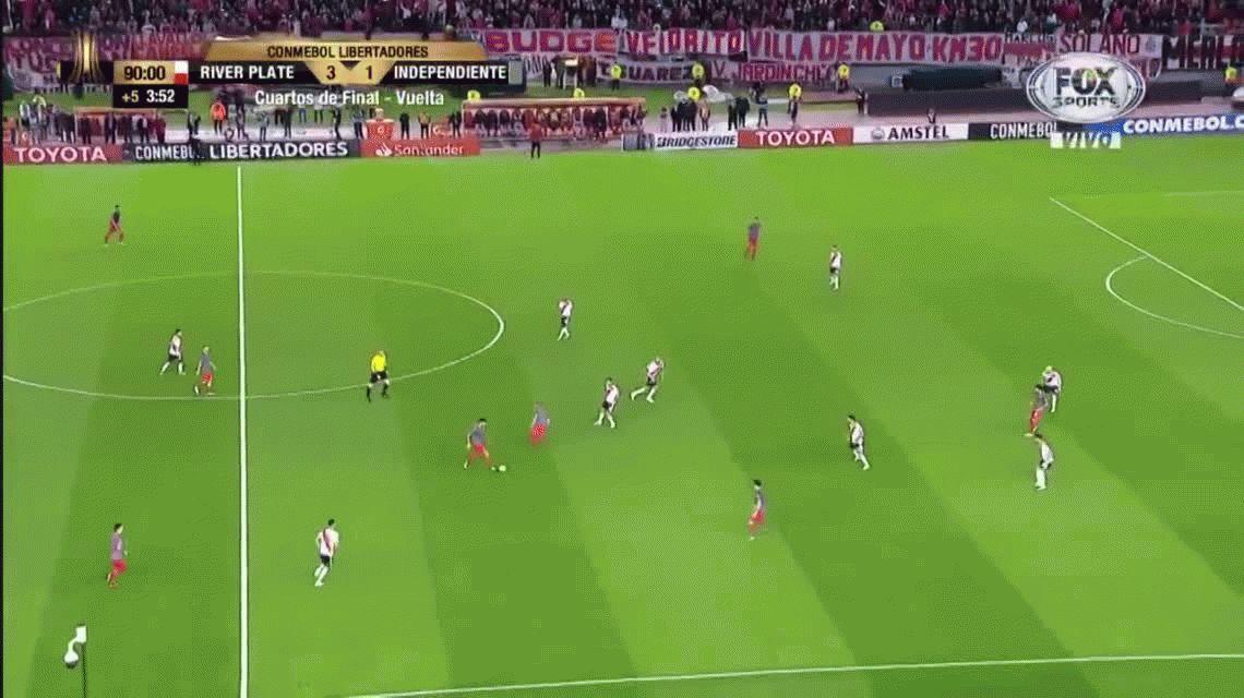 VIDEO: ¿A Independiente no le cobraron otro penal en el final?