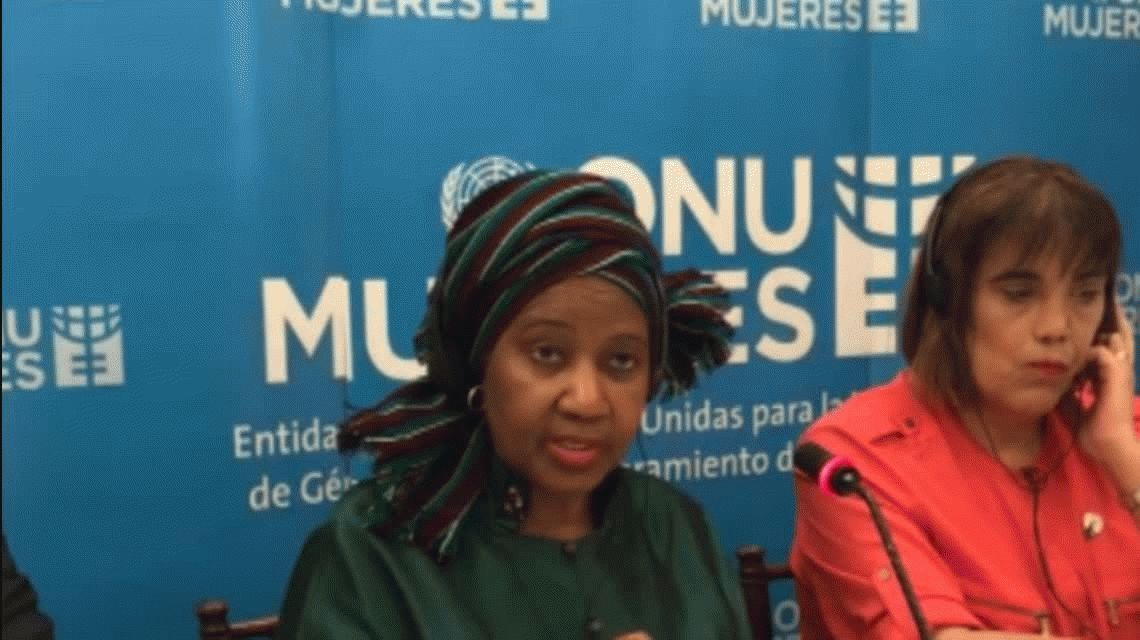 La Directora Ejecutiva de ONU Mujeres Phumzile Mlambo-Ngcuka