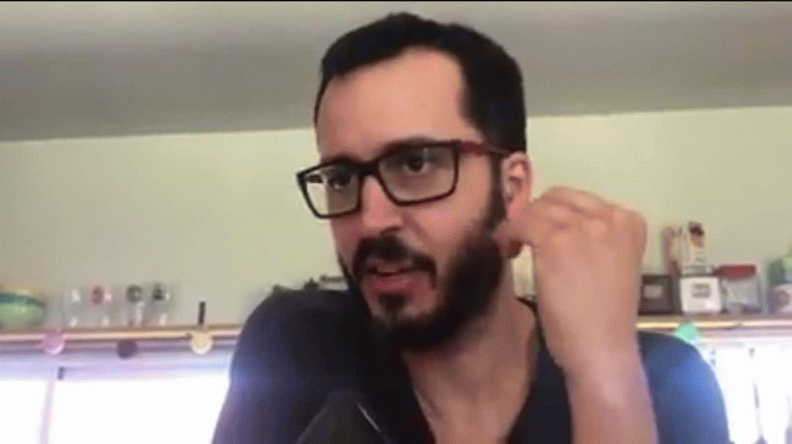 Matías dio una entrevista al portal La Buena Info