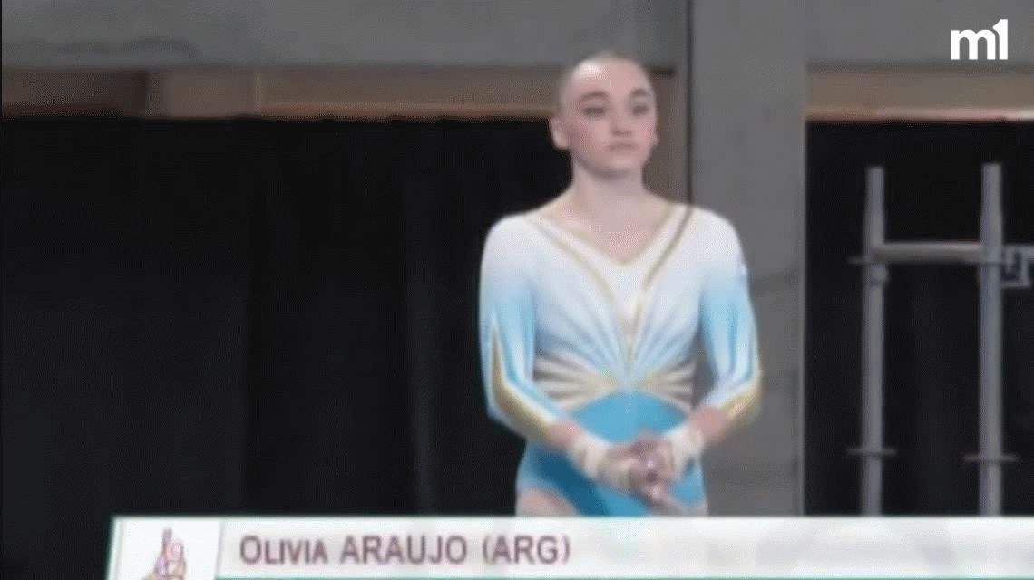 Tremenda caída y lágrimas: la argentina Olivia Araujo conmovió a todos en los Juegos Olímpicos de la Juventud