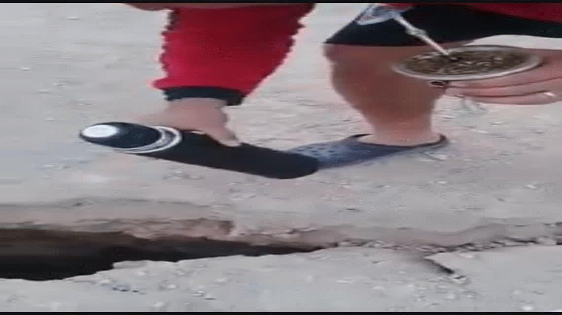 Entre Ríos: apareció una grieta y hay riesgo de desbarrancamiento en Diamante