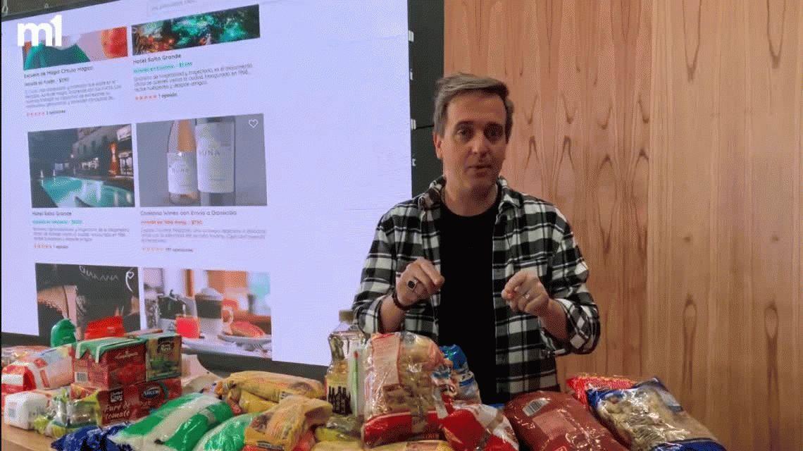 Colecta solidaria: C5N junta alimentos para ayudar a los que más lo necesitan