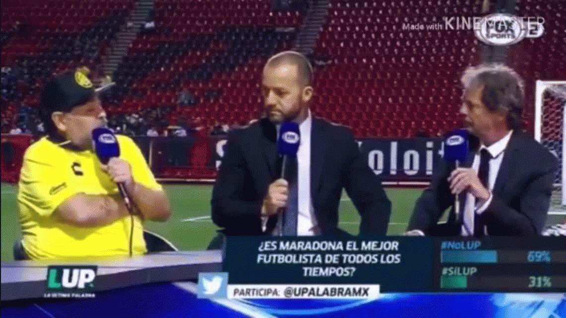 ¿Fin de la relación? Maradona destrozó a Messi con una frase increíble