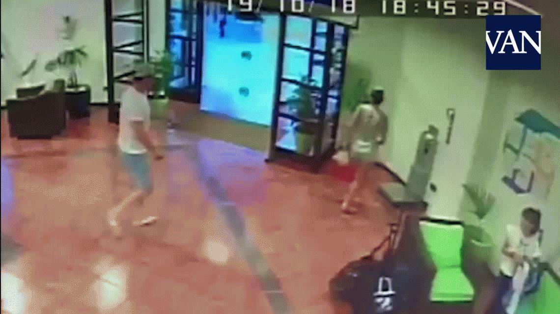 VIDEO: Un argentino evitó un ataque machista en España