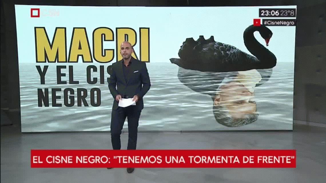 Macri y la teoría del cisne negro: el editorial de Julián Guarino