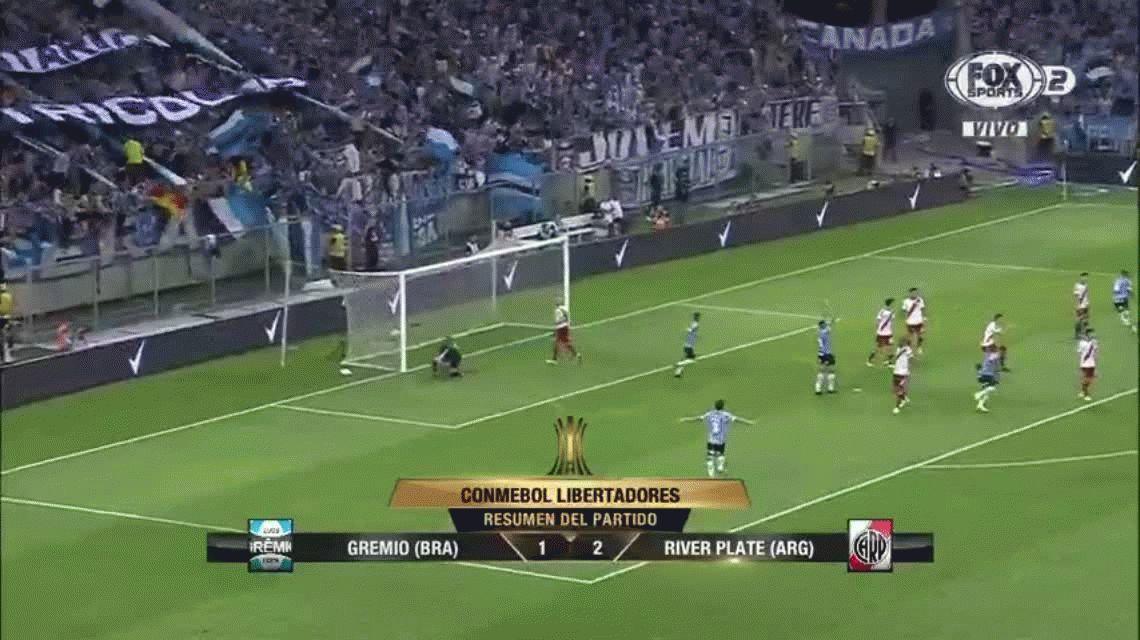 River finalista de la Copa Libertadores: épica victoria ante Gremio en Brasil