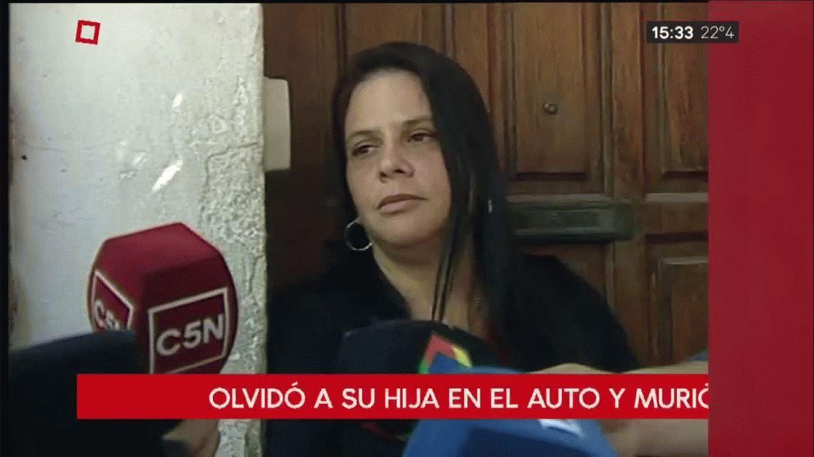 El llanto del padre al descubrir a su hija muerta en su auto: ¡Me olvidé a la gorda!