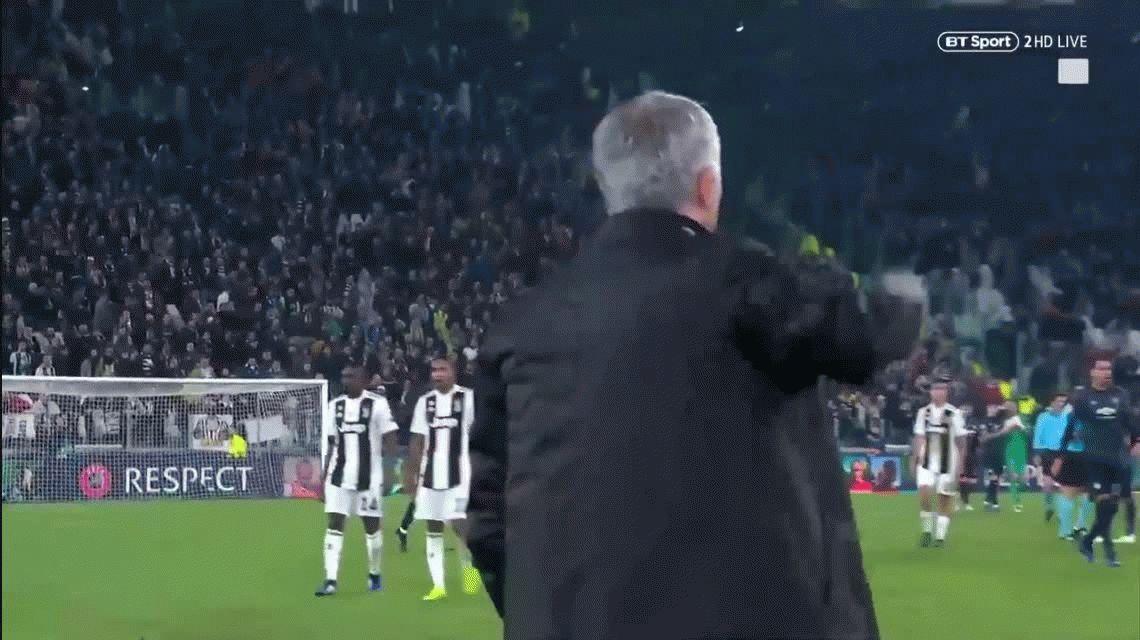 A lo Riquelme: Mourinho le dio vuelta el partido a la Juve y les mostró la oreja a los tifosi