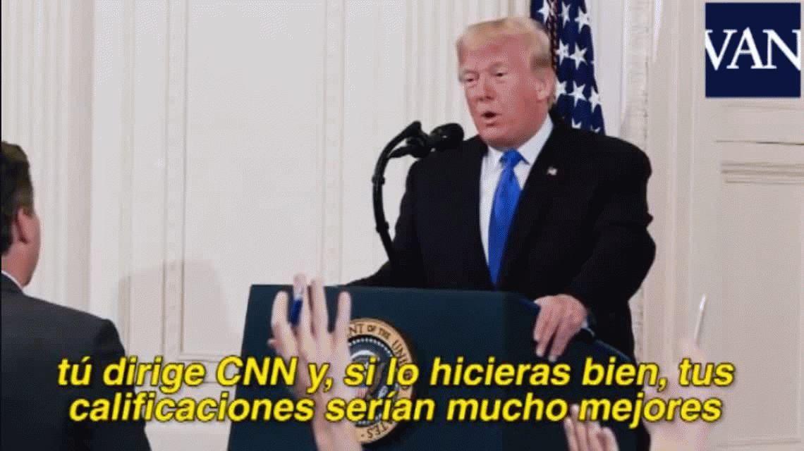 VIDEO: Así fue el cruce de Trump con el periodista de la CNN que echó de la Casa Blanca