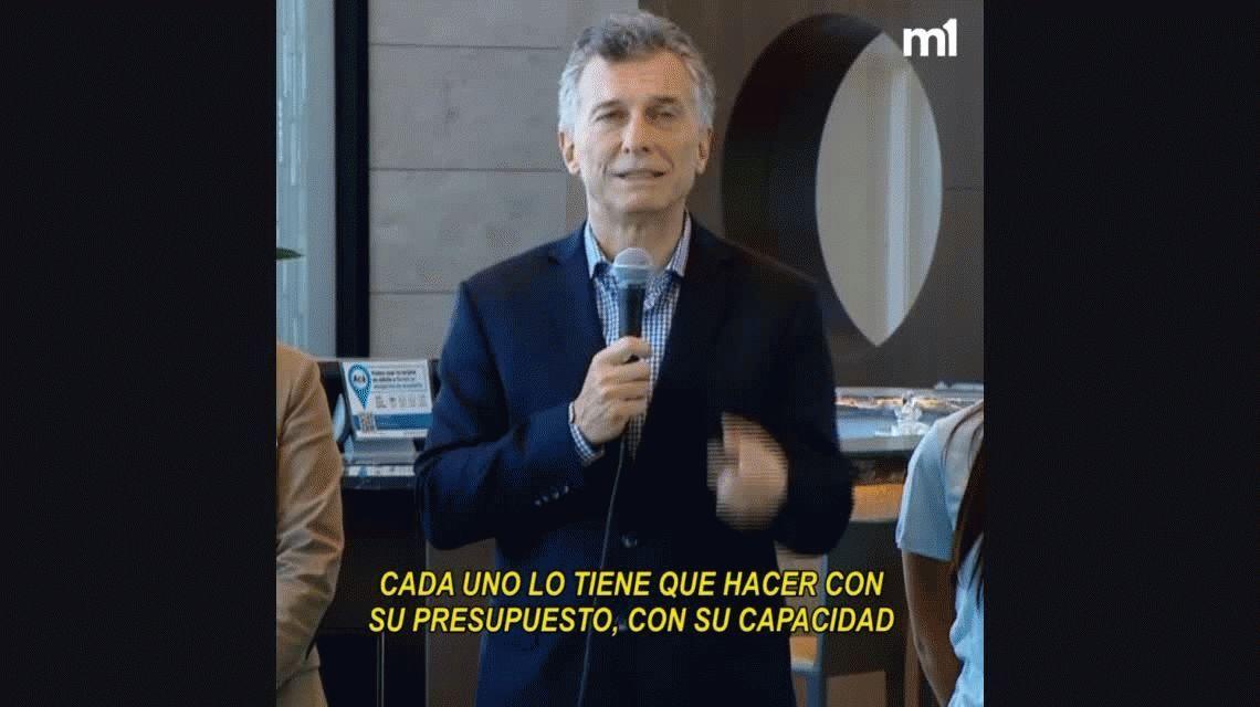 La revelación de Macri: dijo que su hija Antonia está preocupada por el déficit de Aerolíneas