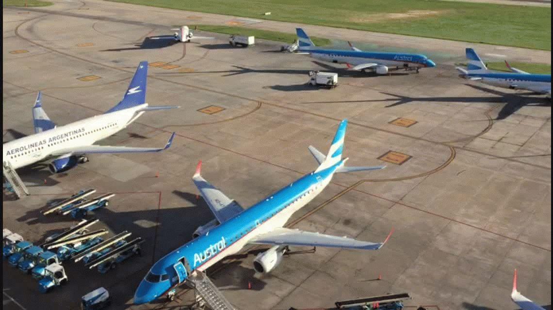 Después de diez horas, levantaron la asamblea en Aerolíneas Argentinas y comienzan a normalizarse los vuelos