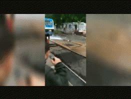 Incendio en una formación del tren Mitre a la altura de Villa Ballester