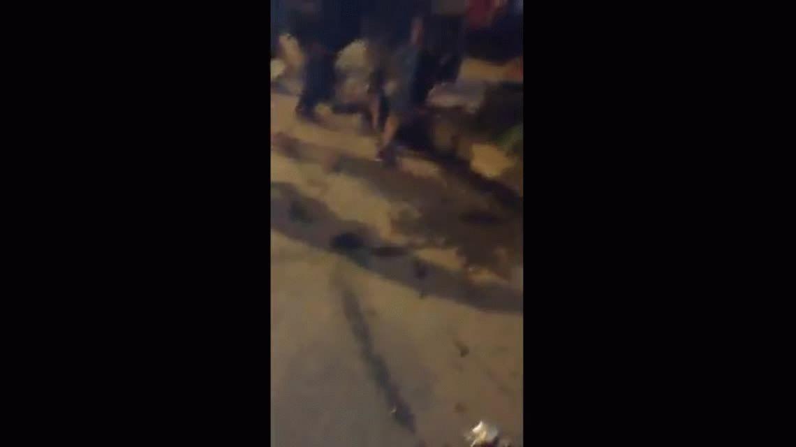 La Matanza: pasajeros de un colectivo casi linchan a un delincuente