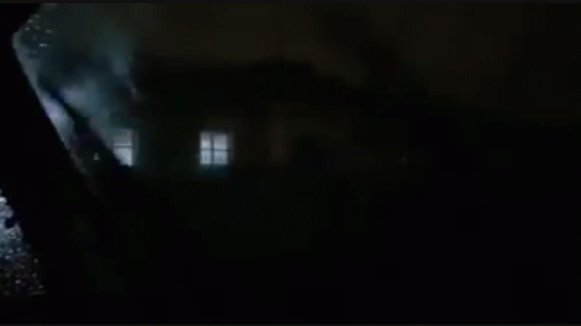 Escalofriante video de un hospital de Villa María durante la tormenta: ¿hay fantasmas?