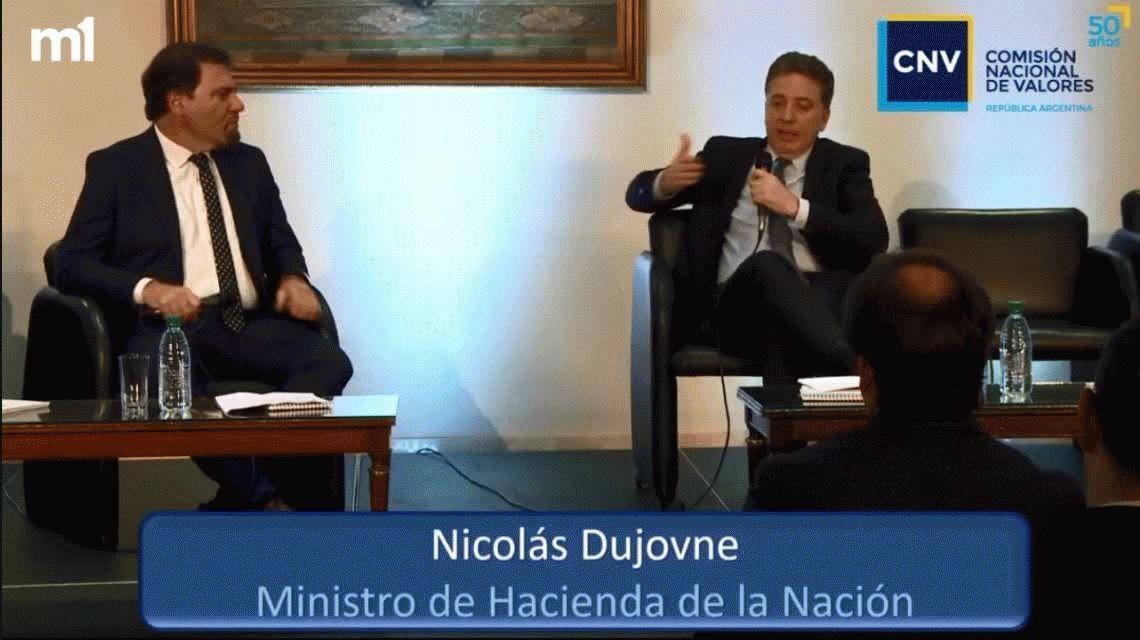 Nicolás Dujovne: Nunca se hizo un ajuste de esta magnitud sin que caiga el Gobierno
