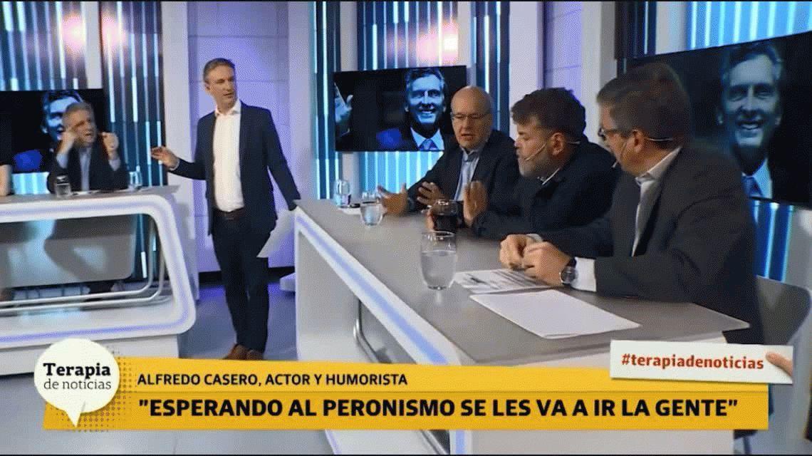 Alfredo Casero: El Gobierno abandonó a los que le pusimos el pecho