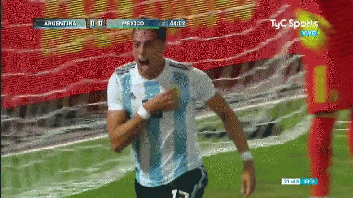 La Argentina de Scaloni jugó bien y le ganó con comodidad a México en Córdoba