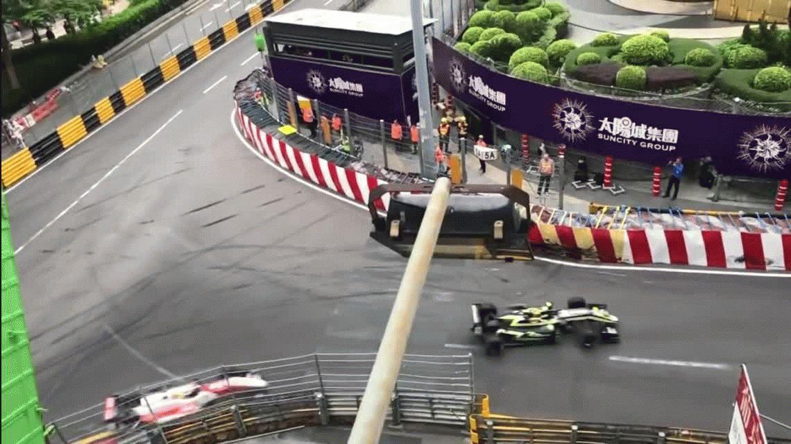 VIDEO: El terrible accidente de Sophia Floersch en el Gran Premio de Macao