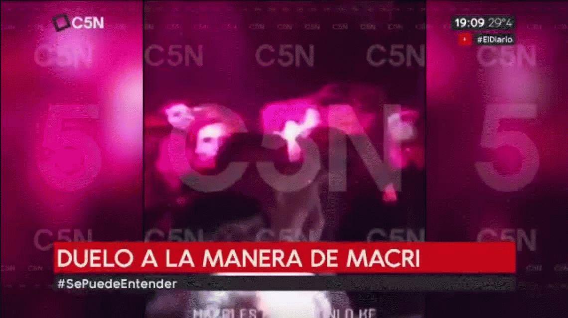VIDEO: Tras decretar tres días de duelo por el ARA San Juan, Macri se fue de fiesta