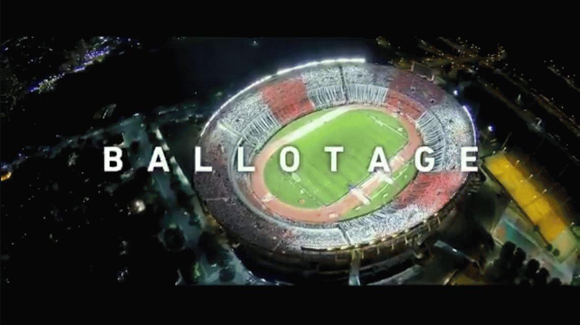 Este sábado hay ballotage: el video que armó la AFA en la previa del Superclásico