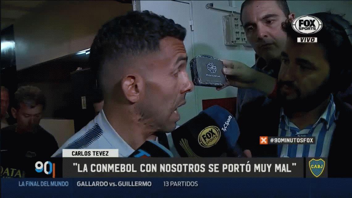 Tevez pide que le den la Libertadores a Boca: No se tiene que jugar, es lo mismo que pasó en 2015