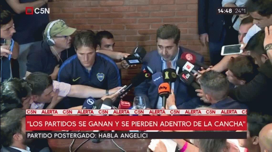 Boca presentó un informe a la Conmebol y esperará que se expida el Tribunal de Disciplina