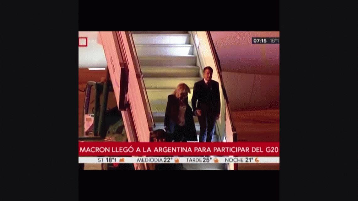 G20: así llegaron los principales líderes mundiales a la Argentina