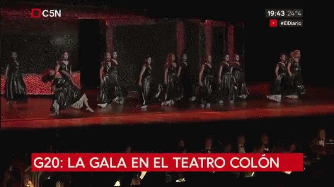 La gala del Colón