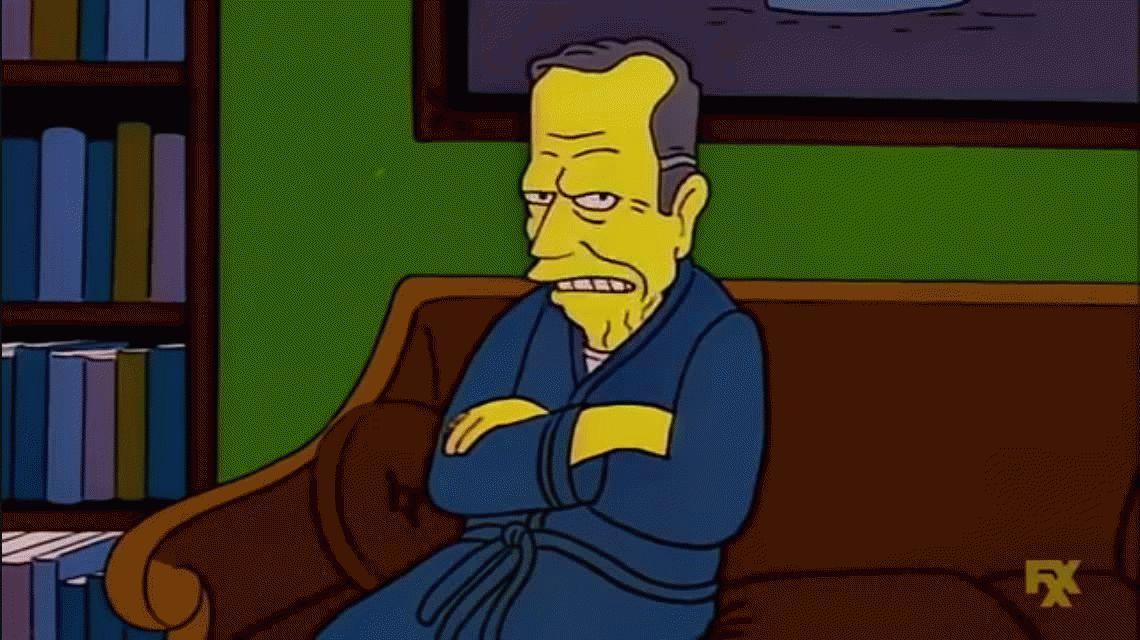 George H.W. Bush, el presidente que enfrentó a Los Simpson y le dedicaron un capítulo