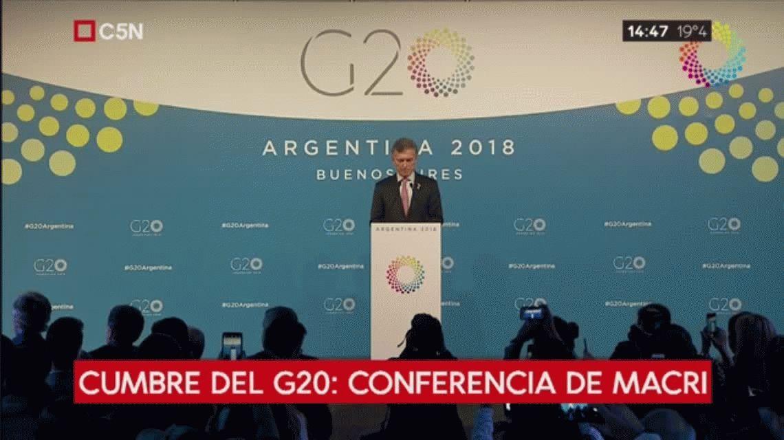 Macri: Tenemos una Argentina conectada al mundo como nunca antes en su historia